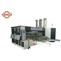 Buy cheap Pizza Box Rotary Die Cutter Two Color Printing Machine For Corrugated Carton Industry from wholesalers