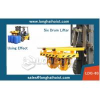 Buy cheap Forklift Drum Clamp,China LONGSHENG Brand,Six Drum from wholesalers