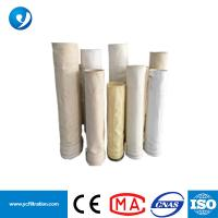 Buy cheap 500GSM 1.8-1.9mm Thickness Nonwoven PTFE+Anti-static Acrylic Filter Bag from wholesalers