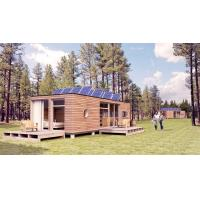 Buy cheap Super Movable Prefab House Plans Modular Wood Homes With Steel Doors from wholesalers