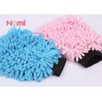 Buy cheap Extreme Thick Microfiber Chenille Dusting Mitt , Double Size Microfibre Noodle Wash Mitt from wholesalers