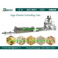 Buy cheap Automatic Soya Extruder Machine / Protein food production line from wholesalers