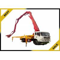 Buy cheap High Performance Truck Mounted Concrete Pump Open Hydraulic Boom Overload Protection from wholesalers