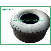 Buy cheap Commercial Solid Golf Cart Tires 18X8 5X8 Gray Color 195mm Width Long Service Life from wholesalers