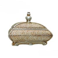 Buy cheap Room Decor Antique Style Jewellery Box , Flower Sculpture Victorian Jewelry Box from wholesalers