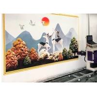 Buy cheap Alu-Mg Alloy Frame 720*720DPL Direct Wall Inkjet Printer from wholesalers