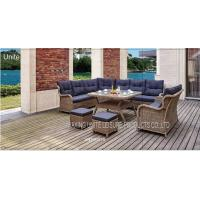 Buy cheap Luxury Backyard Outdoor Wicker Sofa Sets / Conversation Set Patio Furniture For Seating from wholesalers