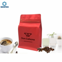 Buy cheap Laminated Eight Side Seal Valve Zipper Drip Coffee Filter Bag from wholesalers