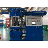 Buy cheap 4 Columes Rubber Compression Molding Machine , Rubber Molding Equipment Electric Control System from wholesalers