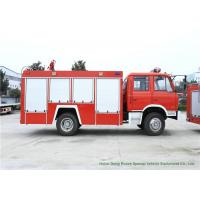 Buy cheap DFAC Water Fire Truck With Water Tank 6000 Liters 4x2 / 4x4 Off Road For Fire Fighting from wholesalers