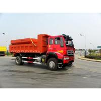 Buy cheap Snow Sweeper Sewage Suction Truck Septic Pump Truck Red Color product
