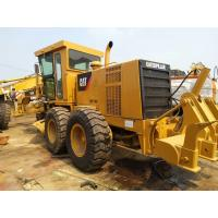 Buy cheap 140K Used Motor Grader Caterpillar 18T weight C7 engine with Original Paint from wholesalers