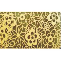 China Artistic Aluminum Wall Panel / Custom Art Flowers Carved Decoration Ceiling tiles on sale