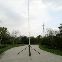 Buy cheap 18M Aluminum Antenna Wifi Tower Portable Telescopic Mast Hand Push Up Pole from wholesalers