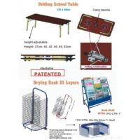 Buy cheap Folding School Table And Rack from wholesalers