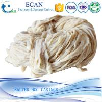 Buy cheap Good Taste Tubed Salted Hog Casing, Salted Hog Casing, Pork Casing, Natural Sausage Casing from wholesalers