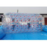 Buy cheap Giant Blue Swimming Pool Toys Inflatable Water Roller For Adults N Children from wholesalers