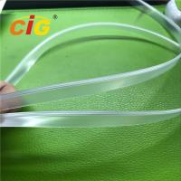Buy cheap 11MM Width Plastic Transparent EVA Zipper Garments Accessories For Document Bags from wholesalers