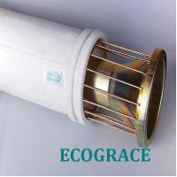 Buy cheap Mild / Stainless Steel Filter Bag Cage With 12 / 16 Wires , Silicon Coating from wholesalers