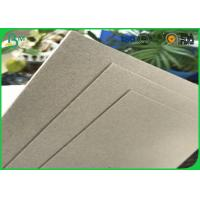 Buy cheap High Stifiness 300gsm - 1500gsm 70*100cm Double Sides Uncoated Laminated Grey Board Sheets For Gifts boxes from wholesalers