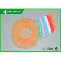 Buy cheap Colored Disposable Surgical Caps For Protection , Mens Surgical Caps from wholesalers