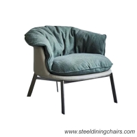 Buy cheap Luxury Art 24.80KGS 630mm Leisure Stainless Steel Accent Chair from wholesalers