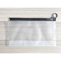Buy cheap Plastic Reusable Ziplock Bags , Frosted PVC Slider Bags With Ring Puller Easy To Open from wholesalers