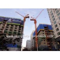 Buy cheap 46M Free Height Construction Machinery Equipment Outside Climbing Tower Crane from wholesalers