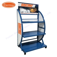 Buy cheap 100kg Load Automotive Battery Rack With 4 Wheels from wholesalers