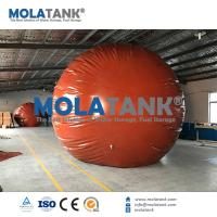 Buy cheap Mola 50m3 200m3 Red Mud Biogas Gas Stroage Bag/ Storage Balloon from wholesalers