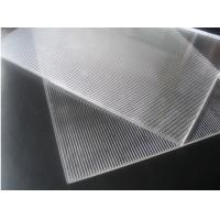 Buy cheap 3D Lenticular Printing material 120cmx240cm 3mm lenticular board for 3D from wholesalers