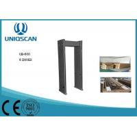 Sound Alarm Portable Walk Through Metal Detector 18 Zones Airport Metal Detectors