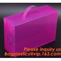 Buy cheap Electric product vinyl ear phone black paper box , plastic box, pvc plastic box transparent plastic shoe box clear plast from wholesalers