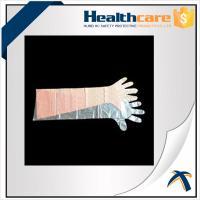 Buy cheap Dustproof Disposable Hand Cloves , Full Arm Disposable Food Service Gloves from wholesalers