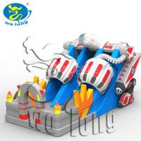 Buy cheap inflatable slide combo, jumping castles inflatable water slide from wholesalers