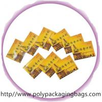 Buy cheap Disposable Herbal Tea Aluminium Foil Bag with Colorful Printing from wholesalers