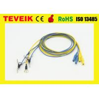 Buy cheap OEM EEG Cable ,EEG electrodes, EEG Ear clip , Pure Silver elctrode,neurofeedback from wholesalers