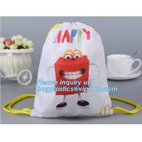 Buy cheap Promotional Customized Nonwoven Recycle PP Non Woven Bag, Promotional Gift Foldable Printed Garment Cheap Tote Fabric Re from wholesalers