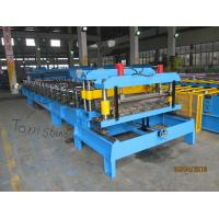 Buy cheap 0.4mm - 0.6mm Roofing Tile Making Machinery PPGI Steel Coil Forming Line from wholesalers