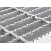 Buy cheap Round Bar Custom Stainless Steel Grill Grates , Pressure Welded Open Mesh Flooring from wholesalers