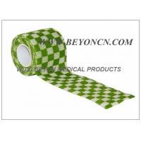 Printed Cohesive Elastic Bandage For Human Vet  Pet Joints Immobilization
