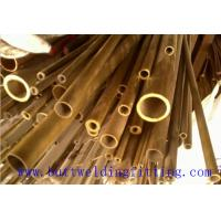 Buy cheap Copper Nickel Tube Cu - Ni 90/10 C70600 , Seamless Copper Nickel Pipe Size 1-96 Inch from wholesalers