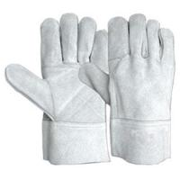 Buy cheap Full Cow Split Leather Welding Glove from wholesalers