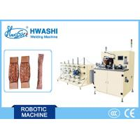 Buy cheap Copper Braided Strand Wire Welding Machine , Automatic Wire Cutting Machine from wholesalers