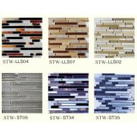 Buy cheap Strip glass mosaics tiles with reasonable price from wholesalers