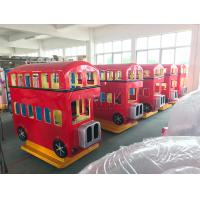 Buy cheap London Bus and Fire Fighting Truck Coin Operated Arcade Kiddie Rides Fiberglass Material from wholesalers