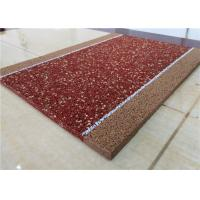 Buy cheap Brown EPDM Recycled Rubber Granules Fragmented Wear Resistant / Anti - Static product