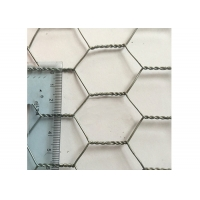 Buy cheap 30m Length Hexagonal Wire Mesh With 13mm Mesh For Isolation from wholesalers