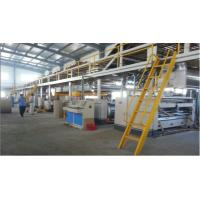 Buy cheap Professional 5 Ply Corrugated Cardboard Making Machine 250 M/Min Speed from wholesalers