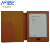 Buy cheap 6.8 Inch Kobo Aura HD Leather Case , Coffee Kobo Ereader Cases from wholesalers